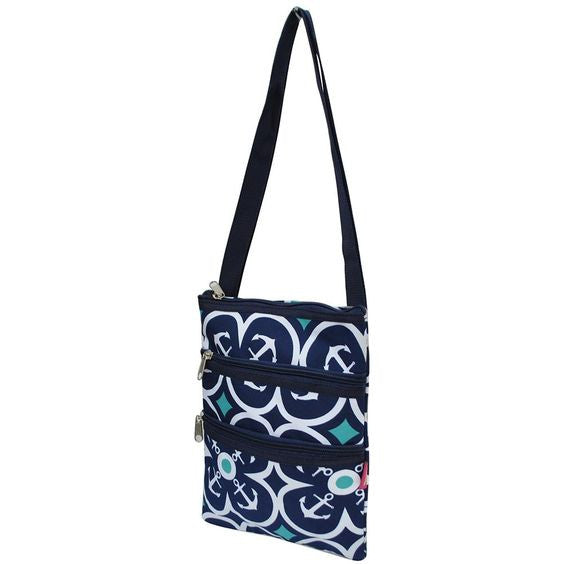 Hipster Messenger Bag - Anchor