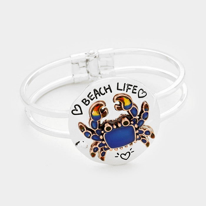 Bangle- Blue Crab