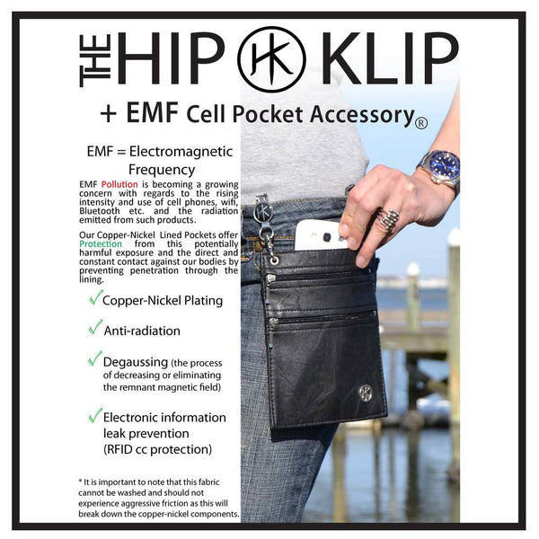 Hip Klips - EMF Camo BLUE XL