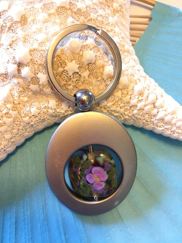 Key Ring - Monet Water Lilies