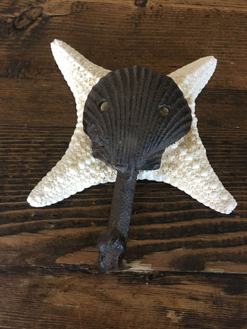 Wall Hook - Clam