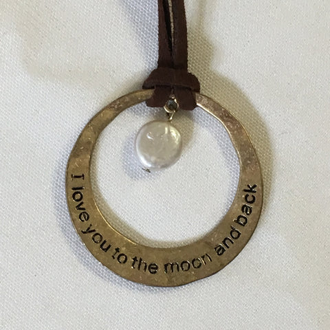 Necklace - Love You to the Moon & Back