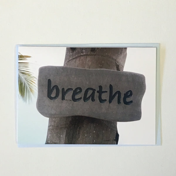 Breathe Note Card