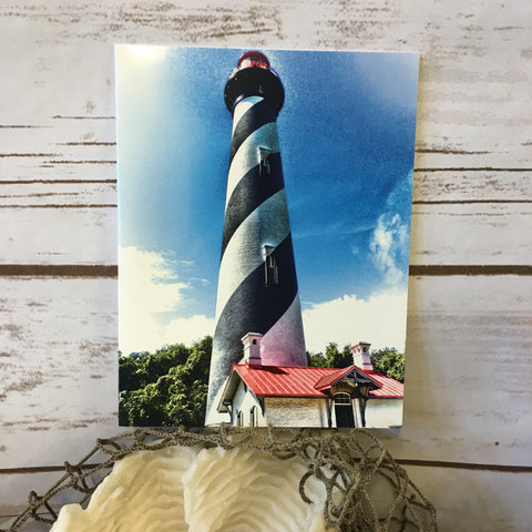St. Augustine Lighthouse Note Card