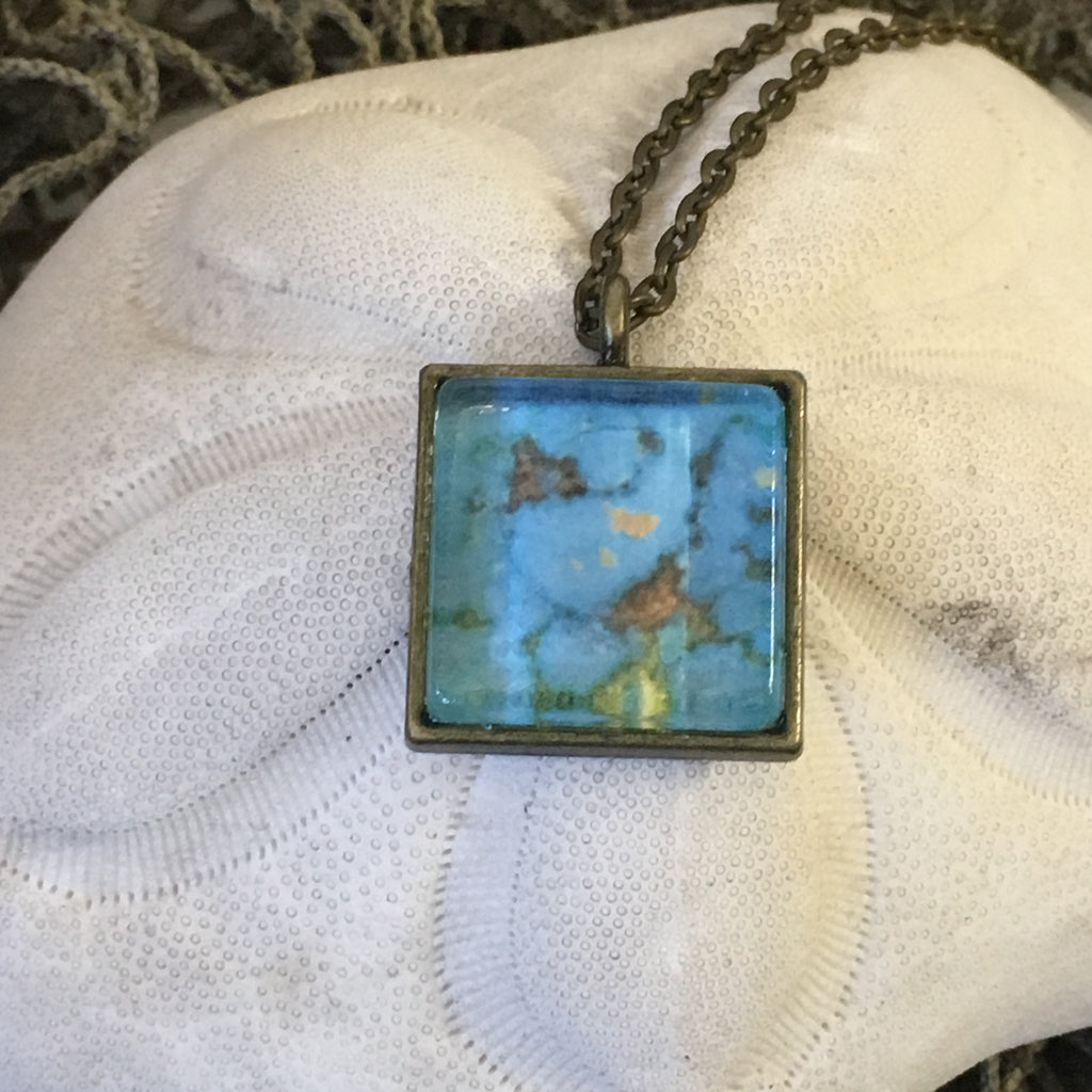 Necklace - Watercolor Pendant