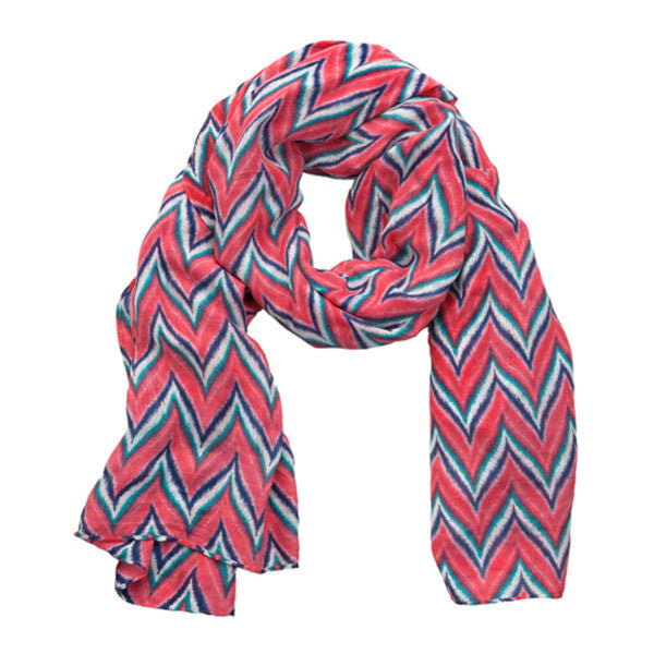 Wraps - Coral/Navy