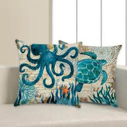 Pillow Covers - Octopus