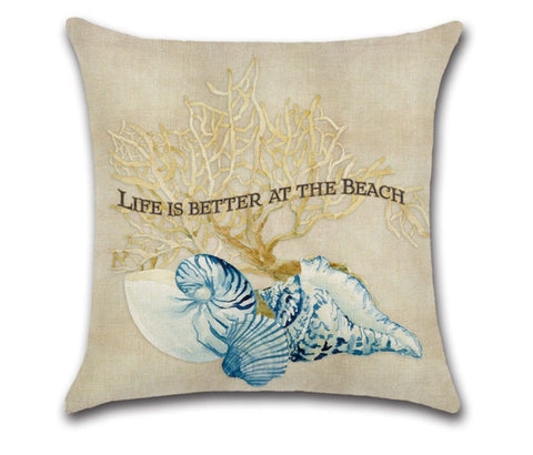 Pillow Covers - Life Is Better At The Beach