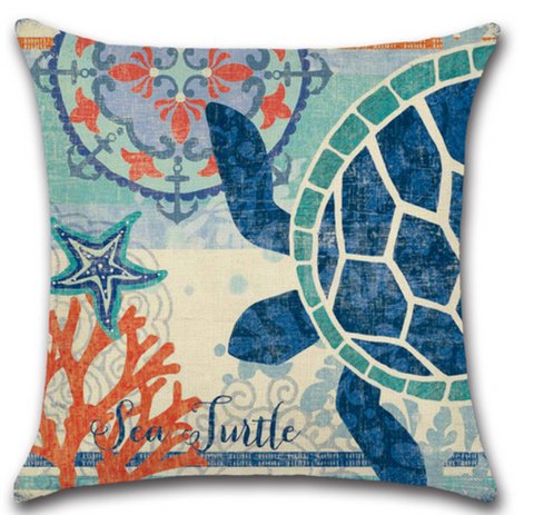 Pillow Covers - Sea Turtle II