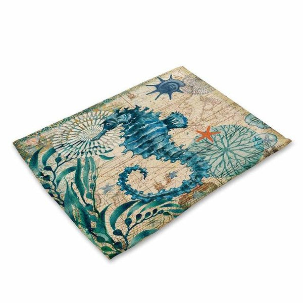 Placemats - Coastal - set of 4