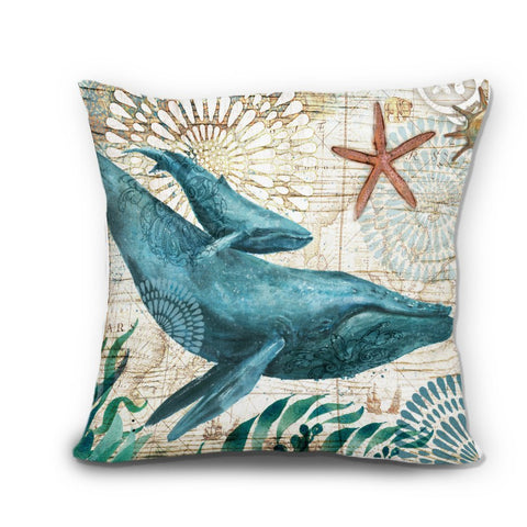 Pillow Covers - Whales