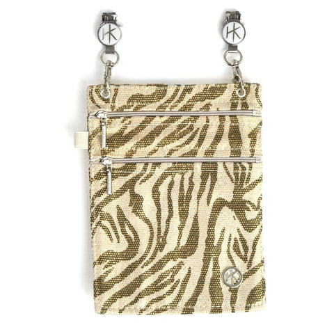 Hip Klip Metallic Zebra-XL