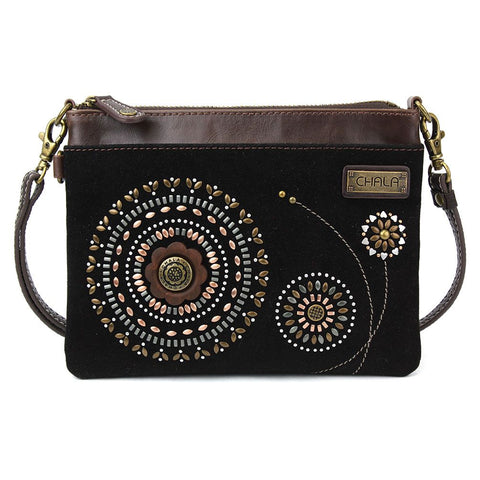 Chala Mini Crossbody - Dazzle Starburst Black