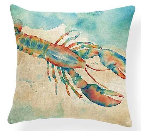 Pillow Covers - Lobster