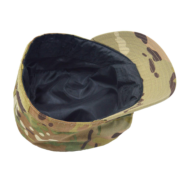 Silk Lined Patrol Caps/8-Point Covers