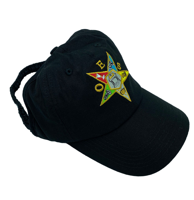 OES (Embroidered) - Satin Lined Backless Cap
