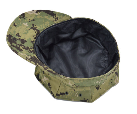 8-PT NWU Type III Cover (Silk Lined) with ACE (TM) - Keep Your Hair Headgear, LLC