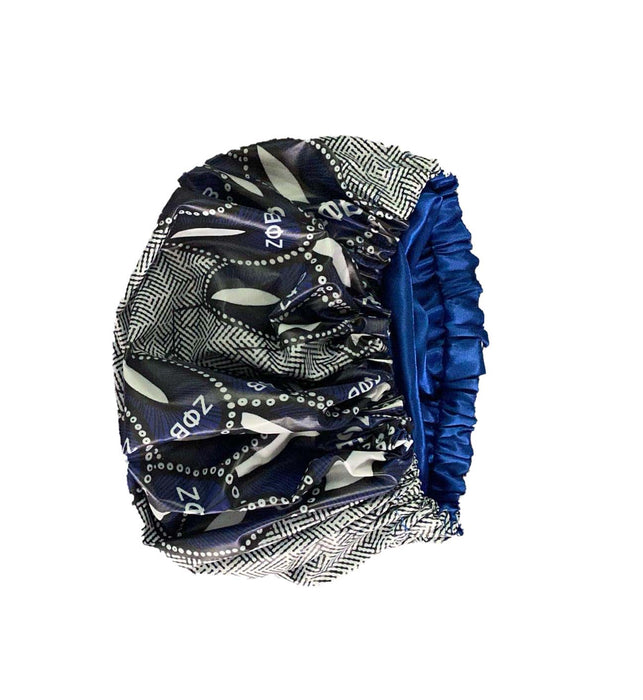 Official Licensed Zeta Phi Beta - Satin Lined Shower Cap (TM)
