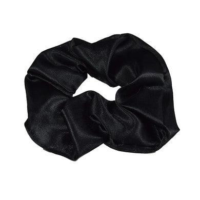 4 Satin Hair Scrunchies - 2 Small and 2 Medium - Keep Your Hair Headgear, LLC