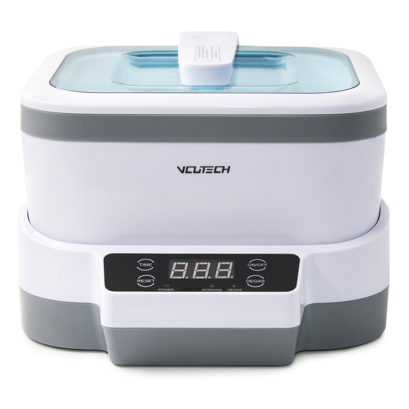 Ultrasonic Jewelry Cleaner with Degas, Detachable Tank 1.2L, 40KHz