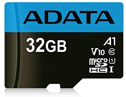 ADATA Premier 32GB MicroSDHC/SDXC UHS-I Class 10 V10 A1 Memory Card with Adapter Read up to 100 MB/s (AUSDH32GUICL10A1-RA1)-Micro SD-ADATA-Vancity-UAV