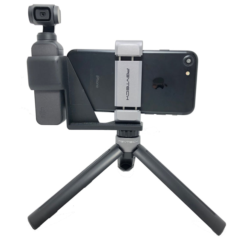 PGYTECH OSMO Pocket Phone Holder Expansion with Tripod Mini Compatible with DJI OSMO Pocket-Accessories-PGYTECH-Vancity-UAV