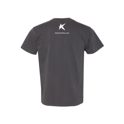 Stark T-Shirt Unisex Dark Gray Black