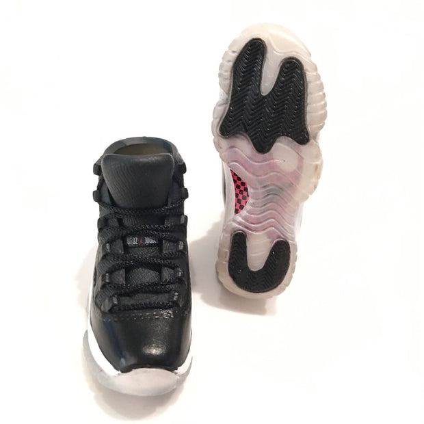 Air Jordan 11 72-10 3D Keychain - 3D Kicks Tech