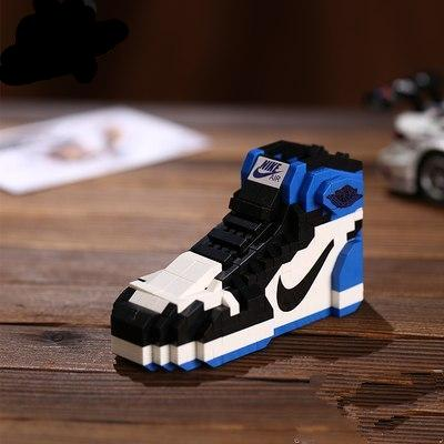"AJ 1 ""Fragment"" Sneaker LEGO - 3D Kicks Tech"