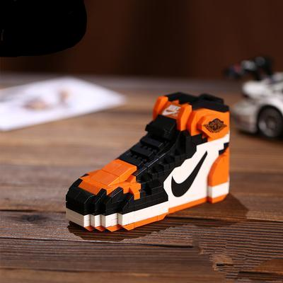 "Air Jordan 1 ""Shattered Backboards"" Sneaker LEGO - 3D Kicks Tech"