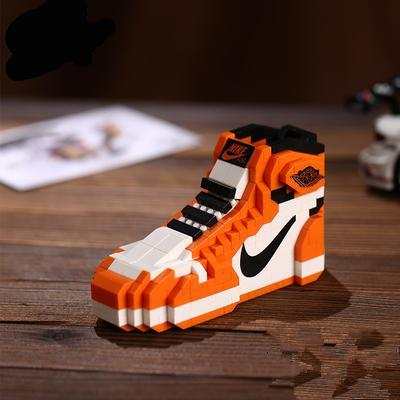 "AJ 1 ""Reverse Shattered Backboards"" Sneaker LEGO - 3D Kicks Tech"