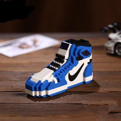 "Air Jordan 1 ""Game Royal"" Sneaker LEGO - 3D Kicks Tech"