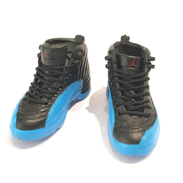 Air Jordan 12 Gamma Blue 3D Keychain - 3D Kicks Tech