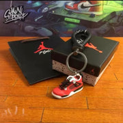 Air Jordan 4 Toro 3D Keychain - 3D Kicks Tech