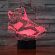 3D Sneaker LED Air Jordan 6