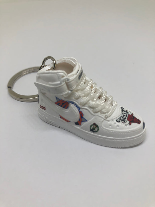Air Force 1 Supreme 3D Keychain - 3D Kicks Tech