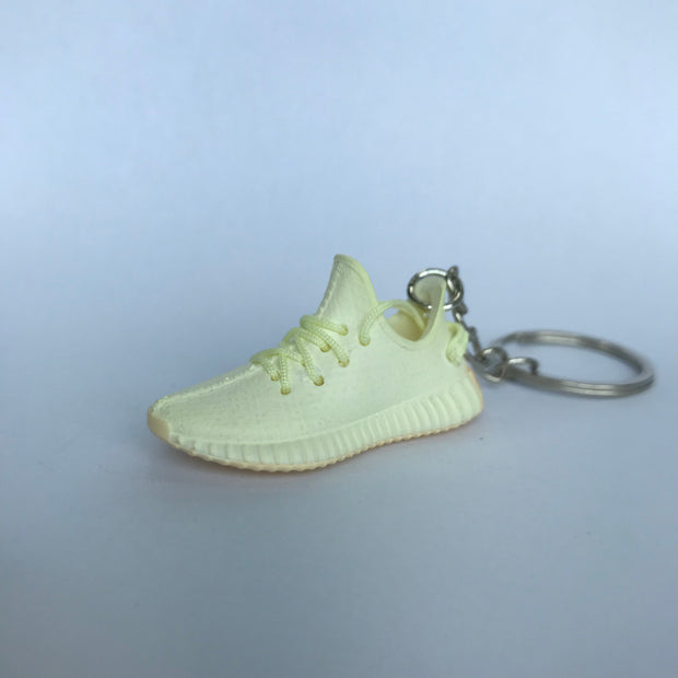 YZY Boost 350 V2 Butter 3D Keychain - 3D Kicks Tech