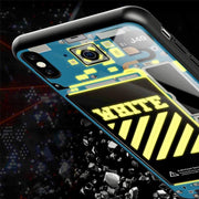 LED Light Up Tech Hypebeast iPhone Case - 3D Kicks Tech