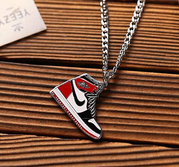 3D Kicks Flat Sneaker Necklace - 3D Kicks Tech