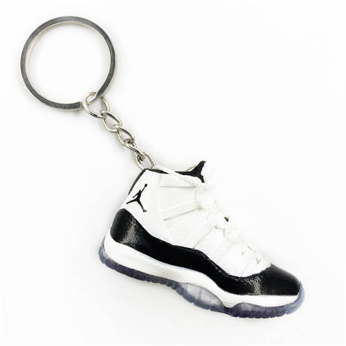 Air Jordan 11 Concord 3D Keychain - 3D Kicks Tech