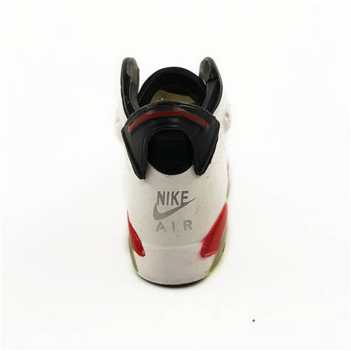 AJ 6 Infrared (White) 3D Keychain - 3D Kicks Tech