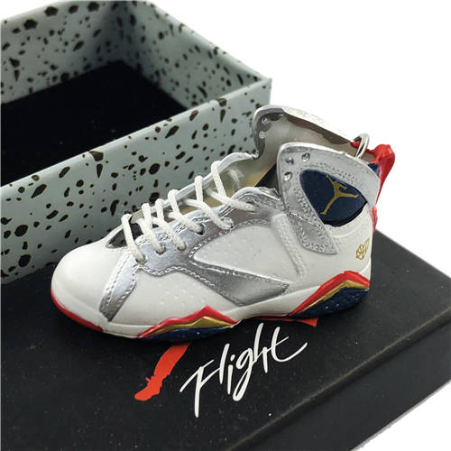 Air Jordan 7 FTLOG 3D Keychain - 3D Kicks Tech