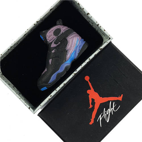 Air Jordan 8 Aqua 3D Keychain - 3D Kicks Tech