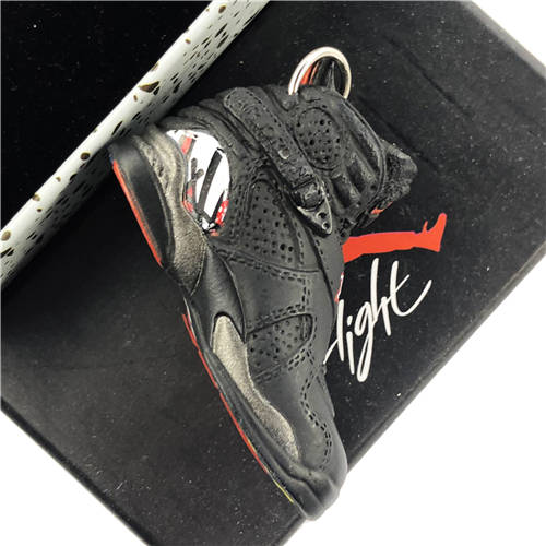 Air Jordan 8 Playoff 3D Keychain - 3D Kicks Tech