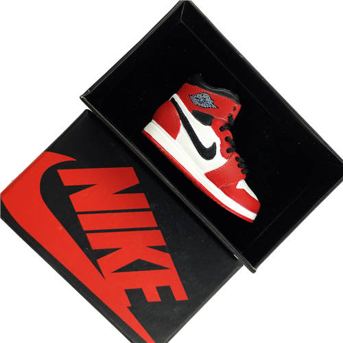 Air Jordan 1 Chicago 3D Keychain - 3D Kicks Tech