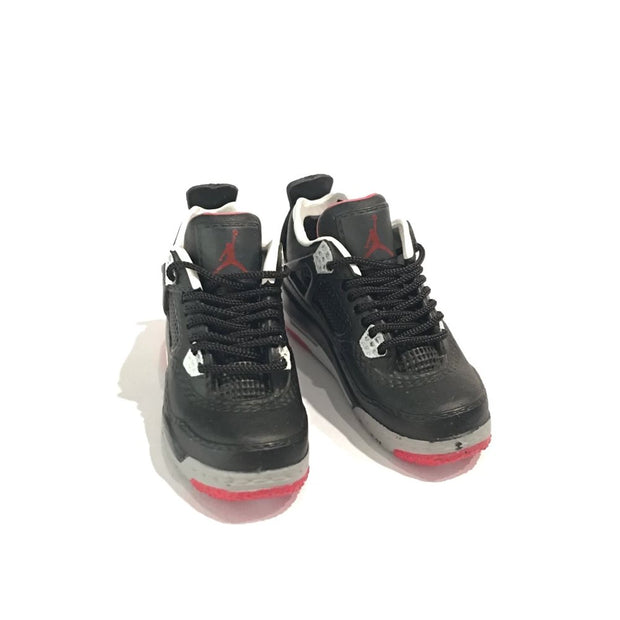 Air Jordan 4 Bred 3D Keychain - 3D Kicks Tech