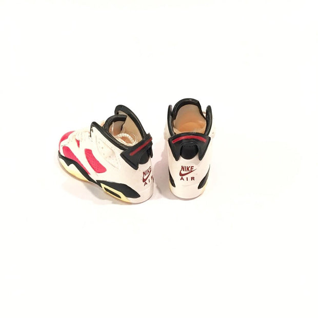 Air Jordan 6 Infrared Carmine 3D Keychain - 3D Kicks Tech
