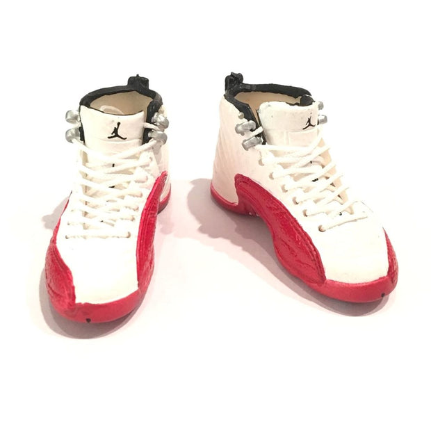 Air Jordan 12 Cherry 3D Keychain - 3D Kicks Tech