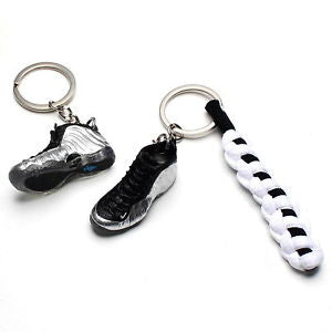 Air Foamposite Chromeposite 3D Keychain - 3D Kicks Tech
