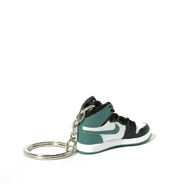 Air Jordan 1 Clay Green 3D Keychain - 3D Kicks Tech